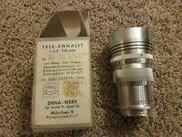 VTG 1950's ? Enna-Werk Munchen Germany Tele-Ennalyt Lens 1:3.5/f13.5cm with Box
