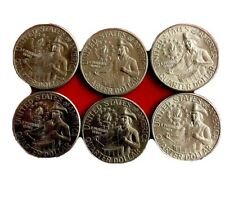 1776 - 1976 Random LOT Of (6) BICENTENNIAL  QUARTERS - circulated And Unchecked