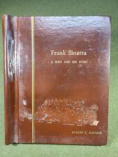 1965 NBC FRANK SINATRA A MAN & HIS MUSIC TV SHOW CONCERT ORIGINAL SCRIPT PROGRAM