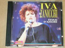 RARE CD / IVA ZANICCHI / ESTASI D'AMORE / EXCELLENT ETAT
