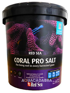 RED SEA CORAL PRO 22KG REEF SALT MARINE SALINITY CALCIUM AQUARIUM FISH TANK