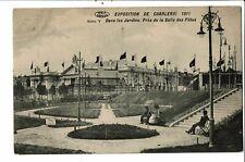 CPA Carte postale-Belgique-Charleroi- Exposition de 1911-Dans les jardins