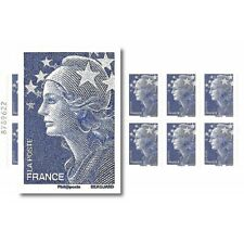 CARNET EUROPE MARIANNE BLEUE DE BEAUJARD 12 TIMBRES