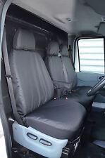 Ford Transit Van 2000-2013 Passgenau & Wasserdicht Schwarz Vordersitz Abdeckung