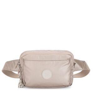 Kipling Crossbody Bag Mini Bumbag ABANU MULTI in METALLIC GLOW SS20 RRP £73
