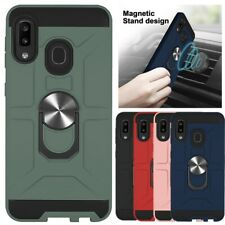 For Samsung Galaxy A10E/A20E/A20/A30/A50/A30S/A50S Shockproof Ring Case Cover