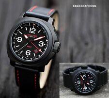 Brand NEW Lum-Tec M series M59 GMT Military PVD Black Watch 300m w/ WARRANTY