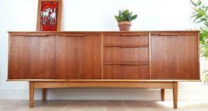 Morris of Glasgow Teak Sideboard Mid Century Danish G Plan Style Retro Vintage