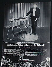 1973 Farfisa Professional compact size Piano photo print Ad