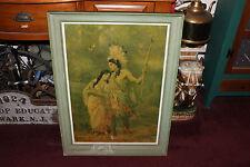 Antique Print-Wedding Journey Minnehaha & Hiawatha-Electro Tint Engraving Co.