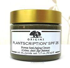 Origins Plantscription Power Anti Ageing Face Cream S.P.F.25 50ml New unboxed