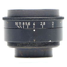 Schneider 40mm f4.0 Xenon Lens in Barrel.