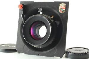 [Near MINT] Nikon Nikkor-W 135mm F5.6 S Lens w/ Copal No.0 Linhof board JAPAN