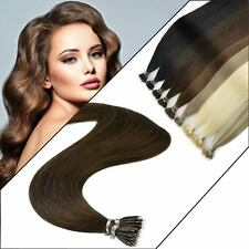 Quality Nano Ring Tip 1g Glossy Highlight Excellent Human Hair Extension EASY