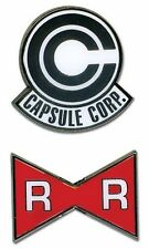 Dragon Ball Z - Capsule Corp. and Red Ribbon Army Pin Set