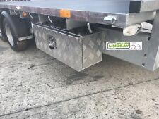 "Aluminium Lockable Underbody Tool & Strap Storage Box For Ifor Williams 26"" x 9"""
