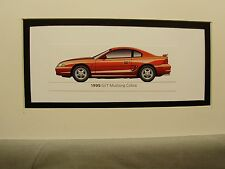 1995  Ford Mustang SVT COBRA  From  50 Year Anniversary Exhibit by artist