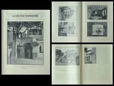 CONSTRUCTION MODERNE 1930 VILLA SAINT RAPHAEL, OCTAVE EVARD, BUANDERIE USA