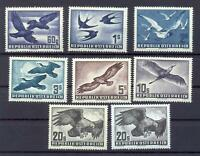 Österreich 955-56, 968, 984-87 Vögel postfrisch komplett (qs4)