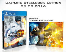 The King Of Fighters XIV DAY ONE STEELBOOK PS4 PAL ESPAÑA NUEVO  ESPAÑOL