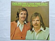 England Dan & John Ford Coley Nights Are Forever 1976 Masterfonics A1/A1 Press