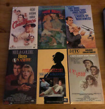 Lot of 6 Classics Vhs Video Tapes Factory Sealed New Casablanca Rear Window