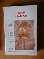 REVUE D'ALSACE n° 126 fascicule 604 : un bilan deux siècles d'histoire