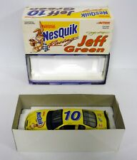 ACTION COURSE NASCAR #10 NESQUIK moulé Jeff VERT MIB 2000