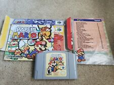 Paper Mario 64, Box is Damaged, TESTED AND AUTHENTIC!!!