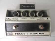 Fender Blender Octave Fuzz Effects Pedal RI Reissue Free USA Shipping