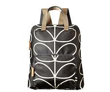 Orla Kiely Etc Giant Linear Stem Backpack Tote Liquorice