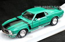 FORD MUSTANG BOSS 302 1970 1:24  Diecast Metal Car Model Die Cast Cars