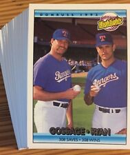 1992 Donruss - You Pick Any 30 Cards to Complete Your Set - Stars Rookies