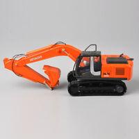 HIACHI 1/50 Orange Diecast ZH200 Excavator Engineering Vehicles  Car Model Toy