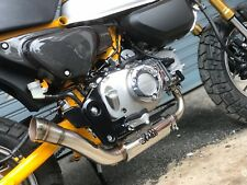 ZoOM Exhaust The Brute Honda Monkey 125 Full System 2018 2019 Low Mount