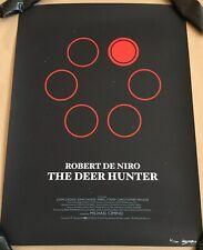 The Deer Hunter Movie Poster Olly Moss Art Print Robert De Niro Mondo 41/100