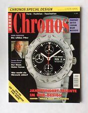 Chronos ZeitschriftSpecial DESIGN Juli 1998