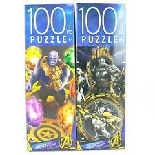 2 Gauntlet Thanos Villians Two Infinity War 100 Piece Puzzles Marvel Avengers C1