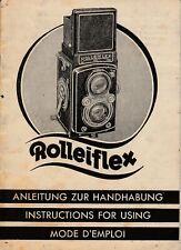 PDF Rolleiflex-Automaten Anleitung zur Handhabung Bedienungsanleitung Manual