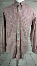 Brooks Brothers Slim Fit Non Iron Men's Long Sleeved Button Front Large Y25)
