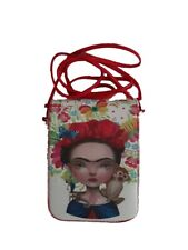 Frida Kahlo Inspired Woman Hipster Bags Wallets    Purses  Clutch HBFK1