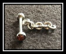 Clasps, Silver, Value Variety Pack of  9, Toggle Clasp w/Amber Ends