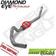 "Diamond Eye 4"" Turbo Back No Muffler Fits 1994-2002 Dodge 5.9L Cummins 2500 3500"