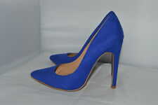 Forever 21 Pointed Faux Suede Pump court shoes UK 4 immaculate condition