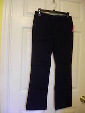 Nautica Girls Navy School Uniform Pants Size 10.5 Plus Adjustable Waist NWT