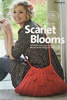 KNITTING PATTERN Ladies Flower Motif Shoulder Bag Handbag Fyberspates PATTERN
