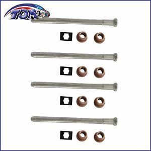 4pcs Door Hinge Repair Kit For 1988-2000 Chevrolet C1500 Cadillac Escalade GMC