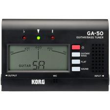 Korg GA50KOR GA-50 - Handheld Tuner for Guitar & Bass