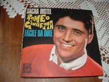 """SACHA DISTEL """" ROMEO E GIULIETTA """"  ITALY'68"""