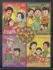 Philippine Stamps 2014 Christmas  Complete set